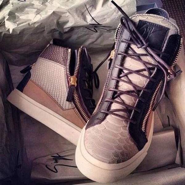 shoes luxury giuseppe zanotti brown wedge sneakers guiseppe zanotti
