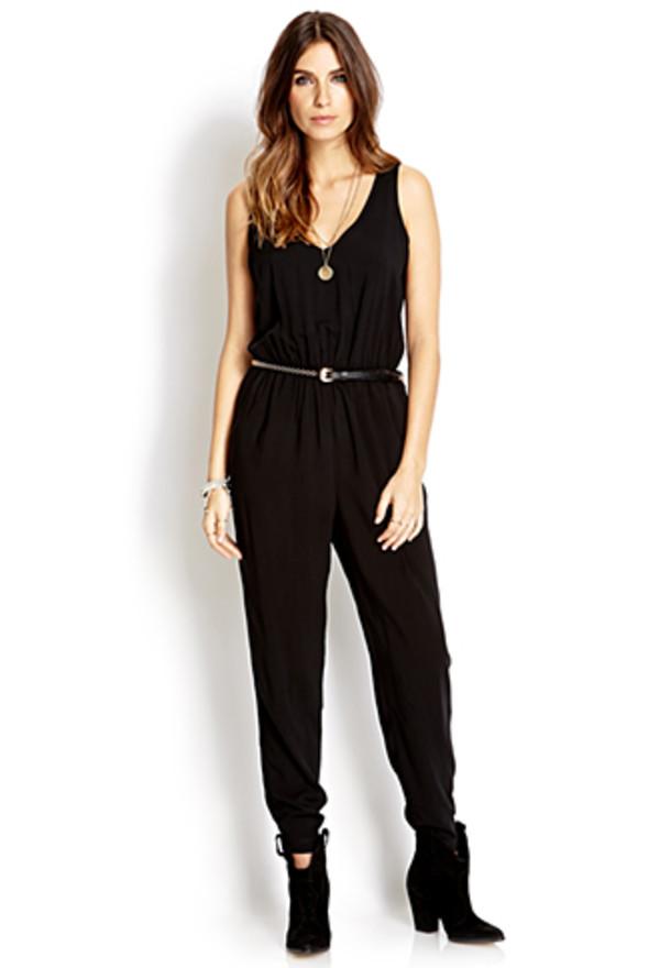 pants black jumpsuit