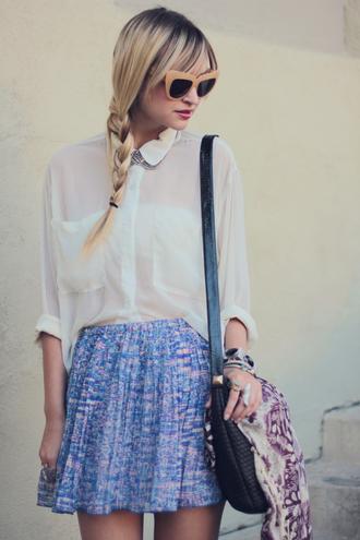 skirt blue skirt pop culture afternoon