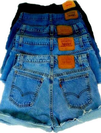 shorts high waisted shorts high waisted denim shorts denim vintage levis levi's shorts