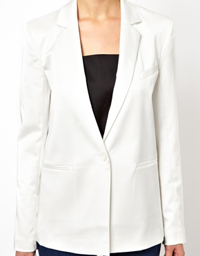 ASOS | ASOS Tux Blazer in Longline at ASOS