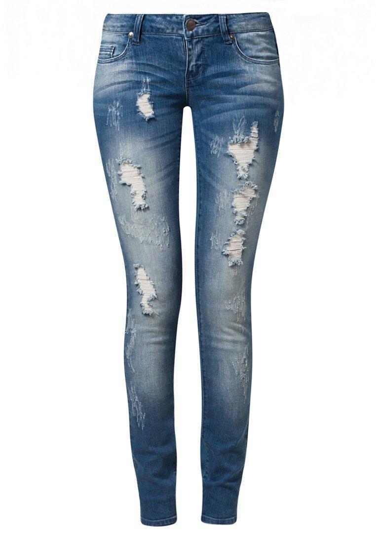ONLY CORAL - Jeans Slim Fit - denim - Zalando.de