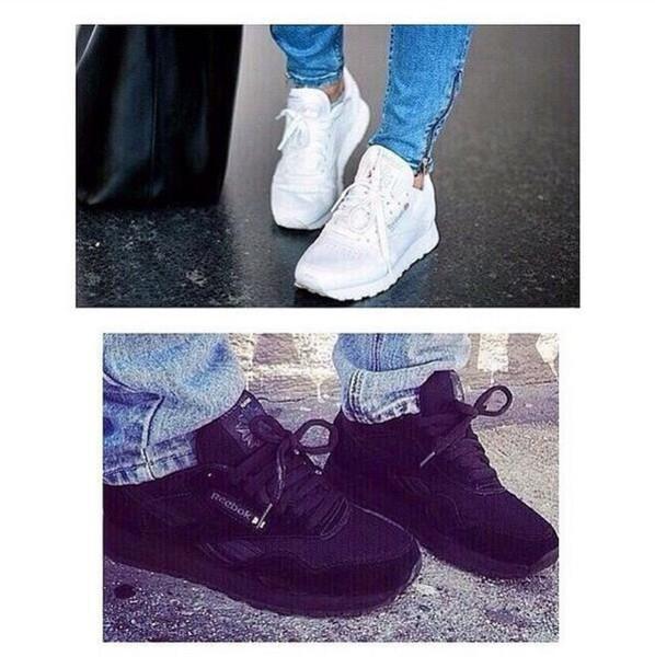shoes wazy nylon claasic Reebok trendy reebok classic reebok classics trendy 2015 girl