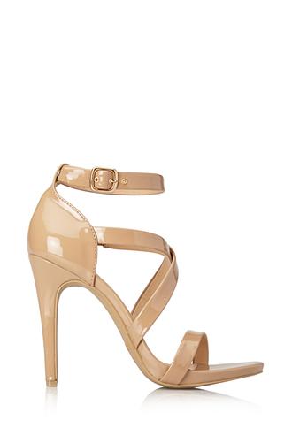 Sleek Patent Sandals | FOREVER21 - 2000071043
