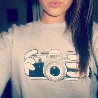 shirt disney blouse camera hot new flowers style girt kiss cheese smile moustache sweater t-shirt
