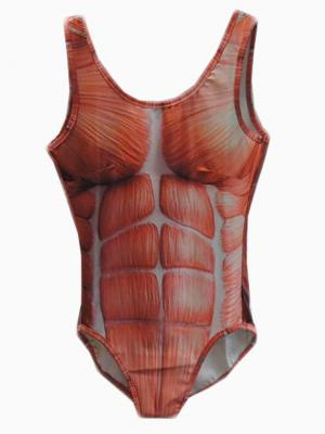 Muscle Printed Body | Choies