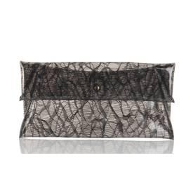 Pochette PVC transparente Noir GAT RIMON FEMME - Boutique en ligne GAT RIMON - Collection Automne Hiver 2013/2014 - Place des Tendances.