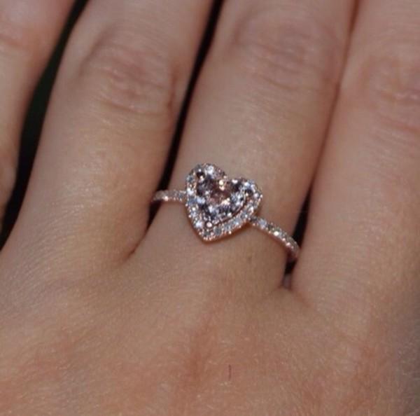 jewels ring heart