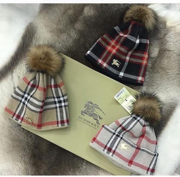 hat burberry hat