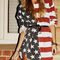 American flag shirt/dress on the hunt