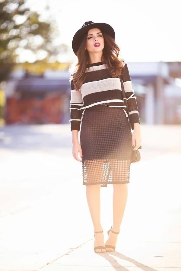 nany's klozet skirt sweater bag shoes hat