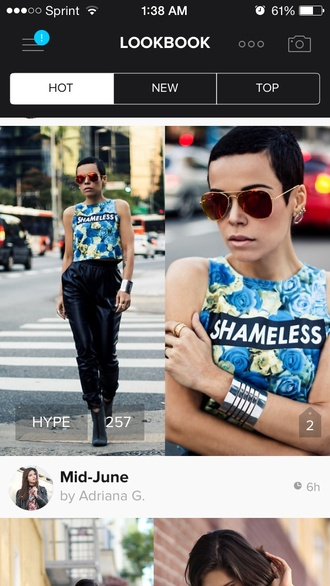top t-shirt fancy tree house fashion green floral tank top floral flowers shameless crop tops pants