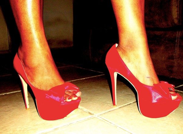 shoes platform shoes red shoes zendaya