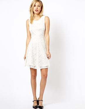 A Wear | A Wear Lace Skater Dress at ASOS