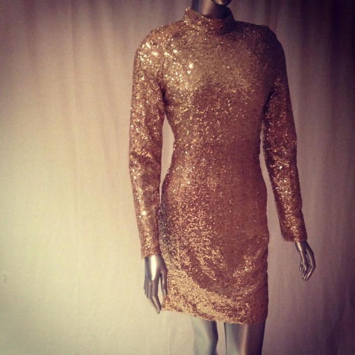 All That Glitters Sequin Dress  |  Bianca Gomez Collection