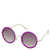 Large Glitter Round Sunglasses - Sunglasses  - Bags & Accessories  - Topshop