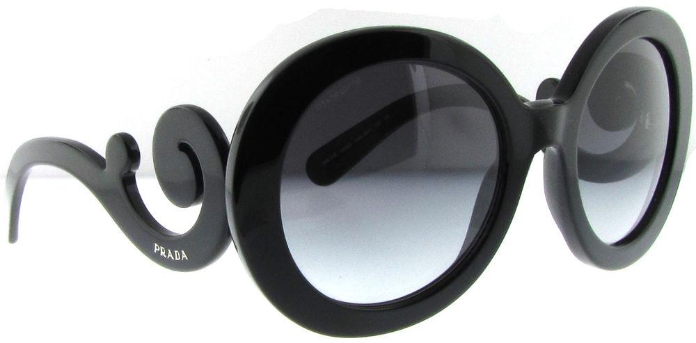 Brand New Prada SPR 27N Sunglasses PR27NS 27N Black | eBay
