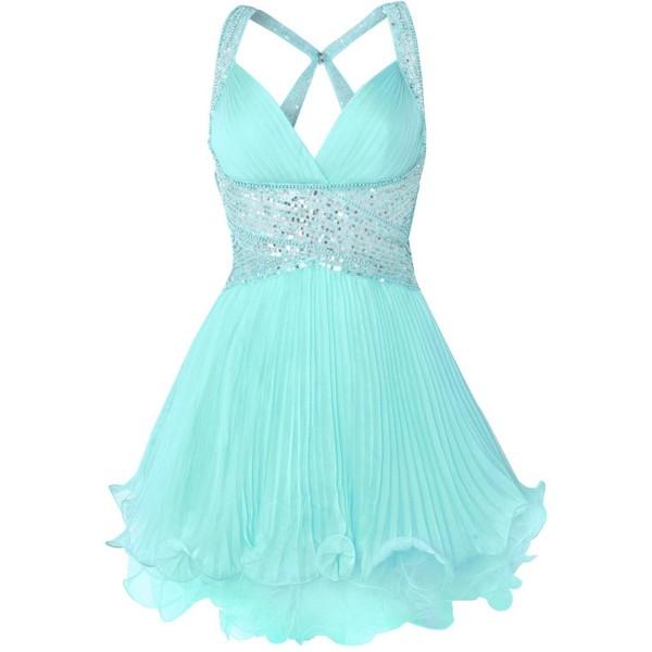 Forever Unique Chandra Embellished Dress - Polyvore