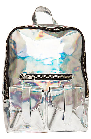 UNIF The Gammaray Backpack in Silver : Karmaloop.com - Global Concrete Culture