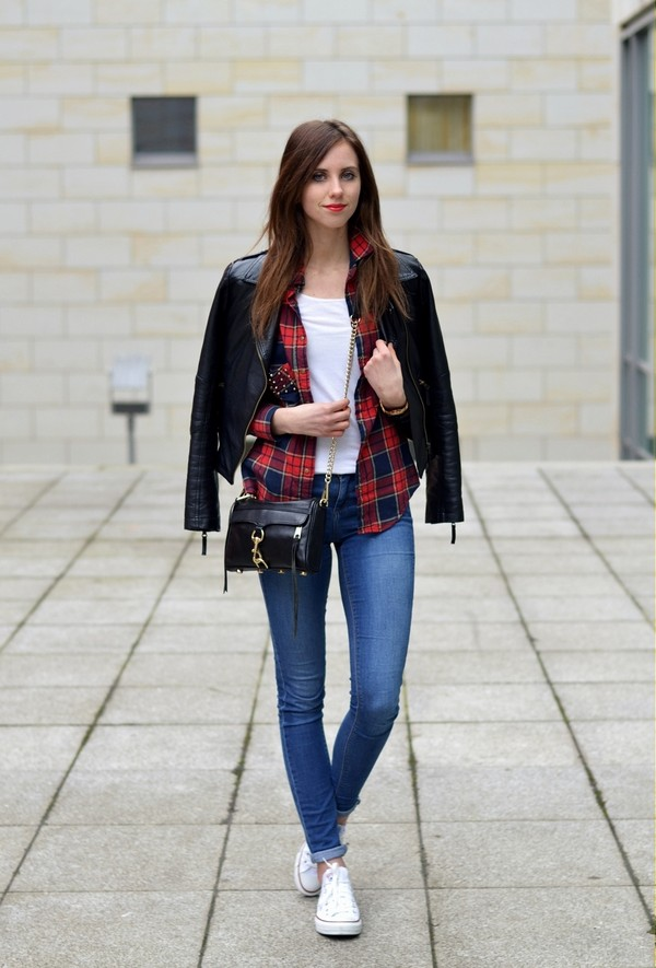 vogue haus t-shirt jeans blouse jacket shoes bag jewels
