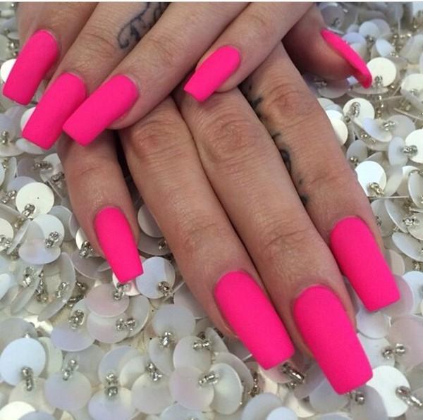 nail polish pretty perfect nails pink neon