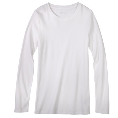 Merona® Women's Long Sleeve Ultimate Crew Te... : Target