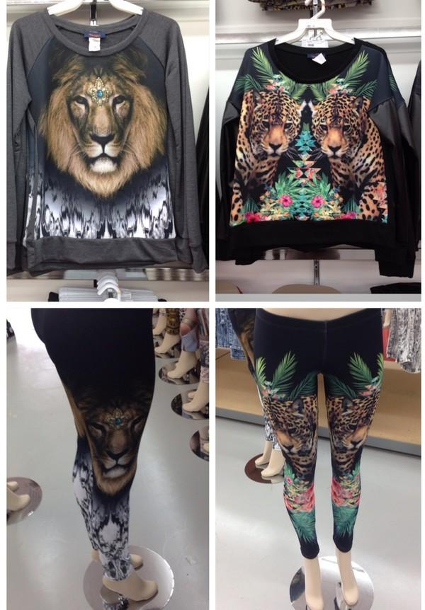 pants jungle sweater