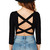 Crissa Back Crop Top | Outfit Made