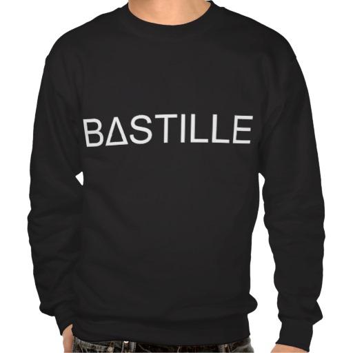 bastille pull over sweatshirt from Zazzle.com