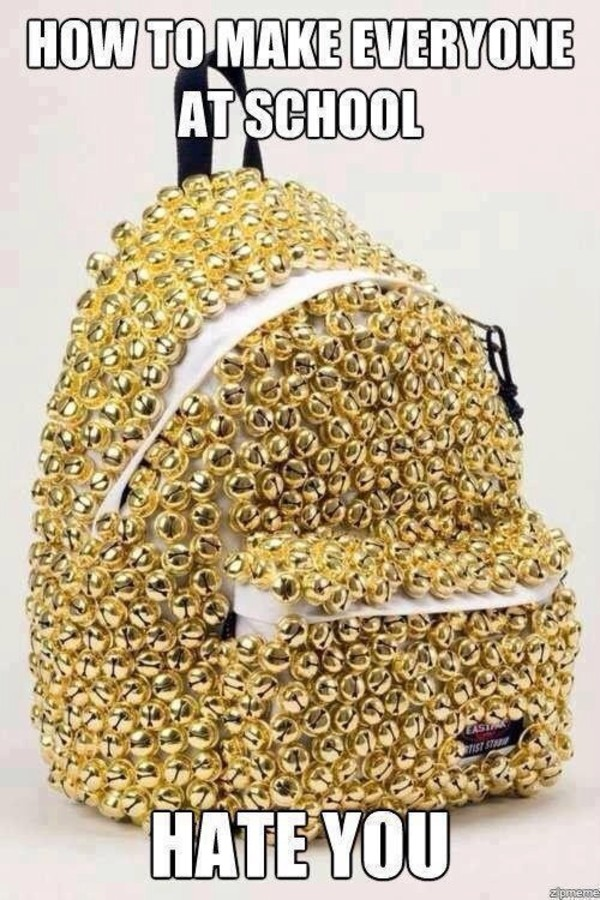 bag cool gold