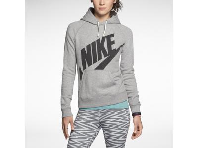 Nike Store. Nike Rally Futura Pullover Women's Hoodie