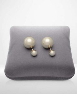 Dior Tribal Earring Pearl Color Brand New Free Shipping | eBay