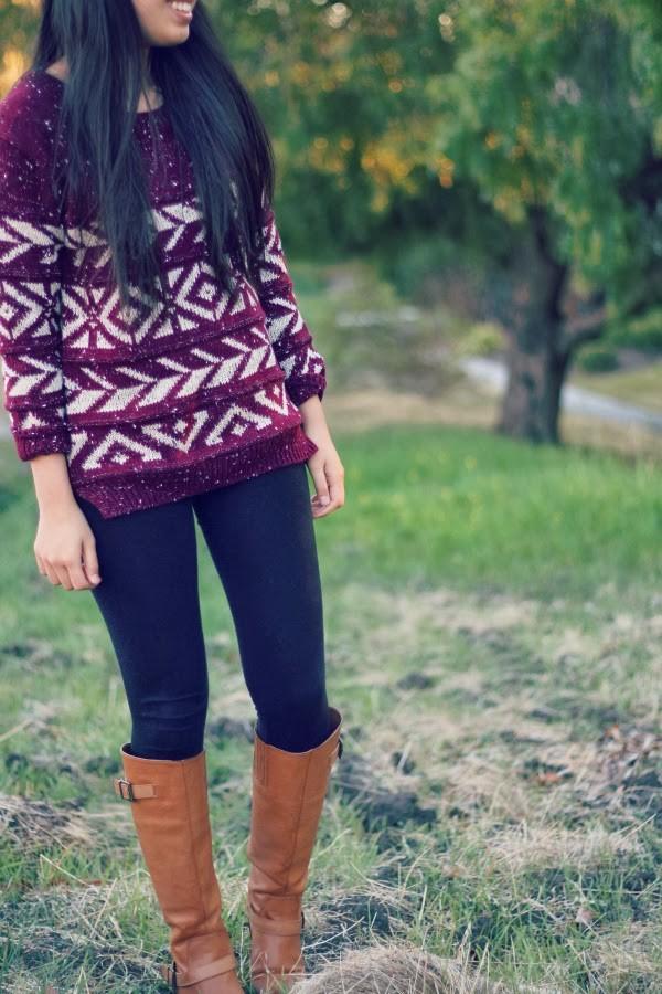 joyful outfits sweater pants shoes