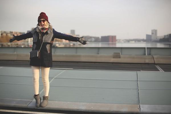 my showroom jeans hat shirt jacket sunglasses scarf coat bag