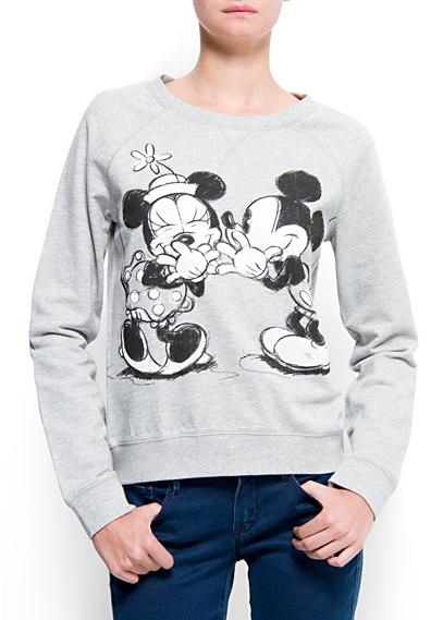 MANGO - NEW - Disney sweatshirt