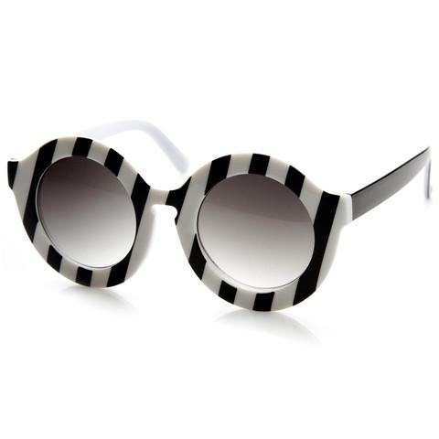Trendy Womens Fashion Oversize Round Circle Sunglasses 9131                           | zeroUV