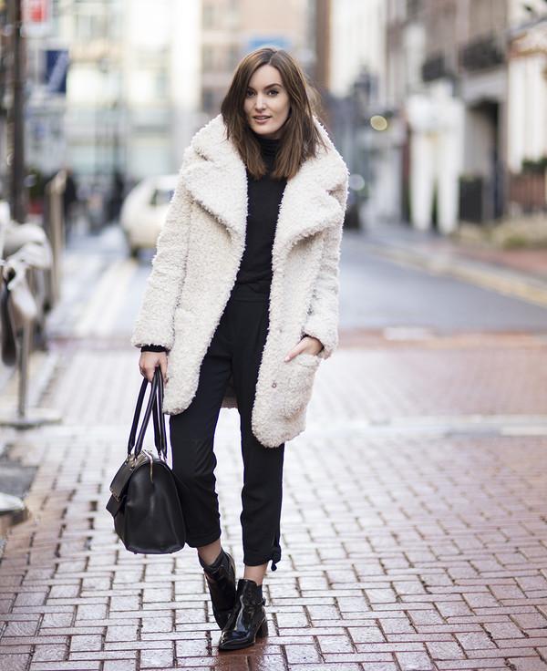 anouska proetta brandon coat bag pants shoes