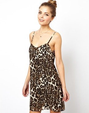 ASOS | ASOS Leopard Cami Print Dress at ASOS
