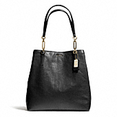 Coach :: MADISON NORTH/SOUTH TOTE IN LEATHER