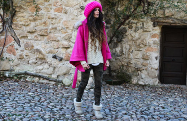 madame rosa coat hat pants sweater shoes
