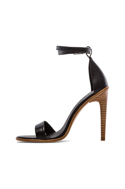 Tibi Amber Heel in Black   REVOLVE