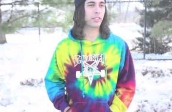 sweater tie dye thrasher