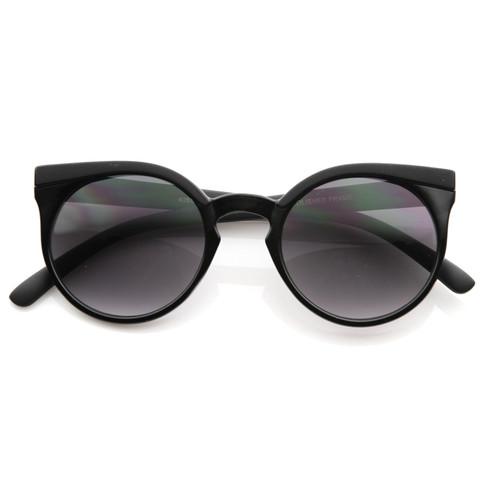 Vintage Retro 1950s Round Fashion Frame Sunglasses 8619                           | zeroUV