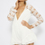 Rhianna Playsuit - White | Clothes | Peppermayo