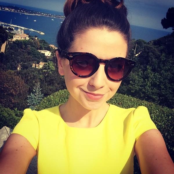 sunglasses zoella glasses sunnies brown youtuber zone zugg leopard print