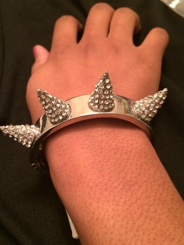 jewels spiked bracelet arm candy fancylovwjewels