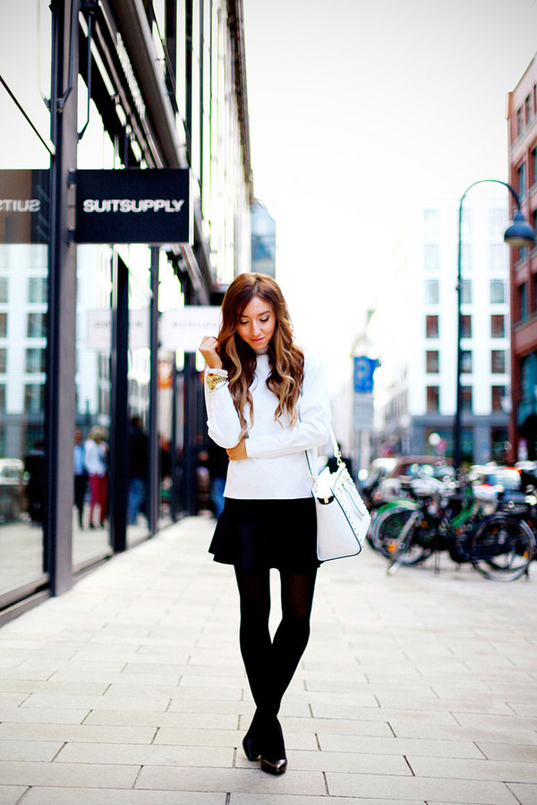 flirting with fashion shirt skirt shoes bag