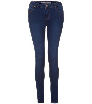 Dark Blue Supersoft Skinny Jeans