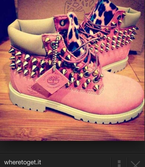 shoes leopard timberlands