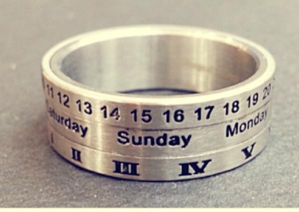 jewels date ring ring calendar